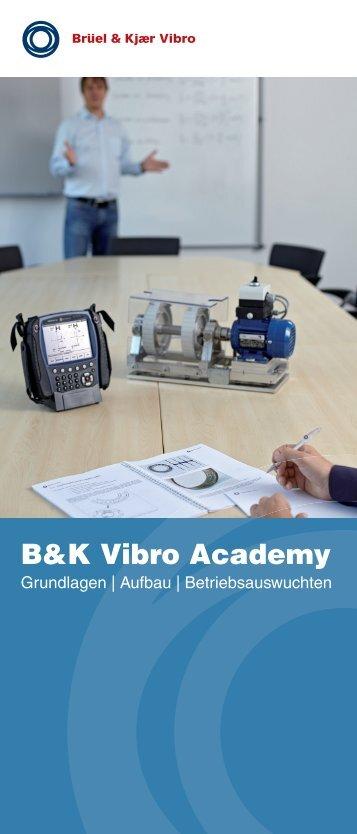 B&K Vibro Academy - Brüel & Kjaer Vibro