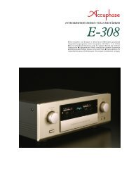 E-308 - Accuphase