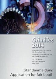 Standanmeldung interaktiv (pdf 1 MB) - GrindTec