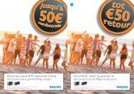 Philips Audio - € 50 cashback