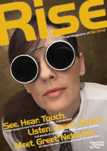The Official Magazine of ISE 2012 - Amazon S3