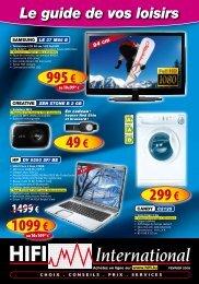 Télévisions LCD Full HD - Hifi International