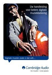 Brochure digitale muziek - Amazon S3