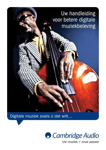 Brochure digitale muziek - Amazon S3