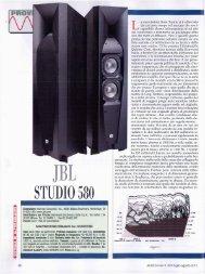 STUDIO 580 - Hi-Fi Di Prinzio