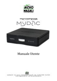 Manuale Utente_MYDAC - Hi-Fi Di Prinzio
