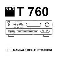 manuale - Hi-Fi Di Prinzio