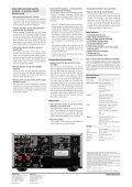 D-M38DAB - DENON AP   Home Page - Page 2
