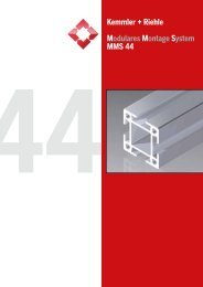 MMS 44 PDF-Katalog - Kemmler + Riehle GmbH & Co. KG