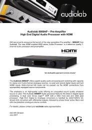 Audiolab 8000AP - Hifi Gear