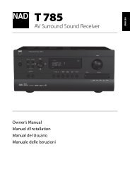 AV Surround Sound Receiver - Hifi Gear