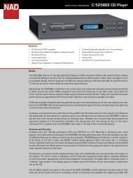 C 525BEE CD Player - Audio Products Australia