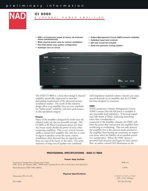 CI 9060 Version 2.qxd