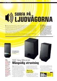 SURFA PÅ - Hi-Fi Klubben