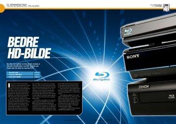 En Blu-ray-spiller er den beste måten å utnytte ... - Hi-Fi Klubben