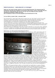 RIAA-forsterkarar – nødvendig del av vinylriggen - Hi-Fi Klubben
