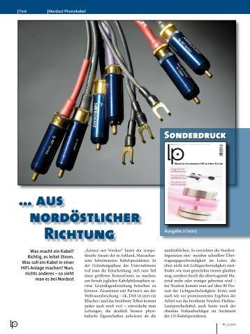 … aus nordöstlicher Richtung - Connect Audio Vertrieb GmbH