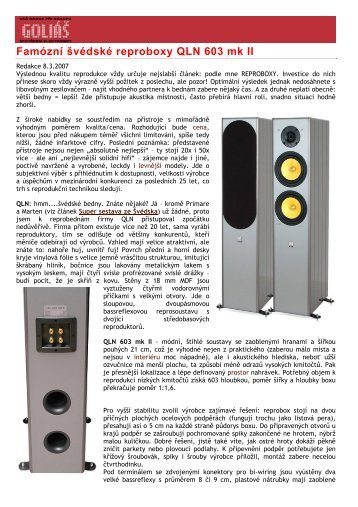 60 free Magazines from HIFIONLINE CZ