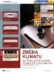 VINCENT SV 234 - Test magazínu STEREOPLAY - DE ... - Hifi on Line
