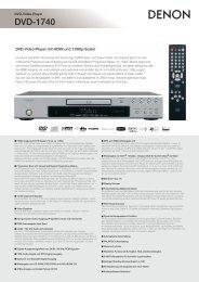 Produktinformation DVD-1740