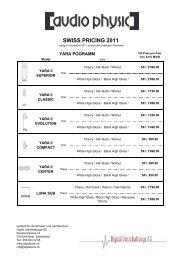 Preisliste Digital komplett_22072011 - Hifi Sulzer