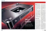 Testbericht zu T.A.C. C-60 - Hi-Fi Sulzer