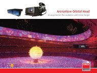 ArenaView Brochure - High End Systems