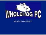 HogPC Tutorial (color) [pdf] - High End Systems