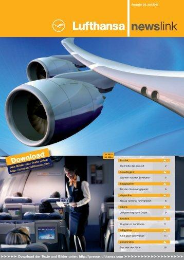 newslink el - Media Relations - Lufthansa