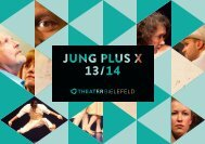 Jung Plus X 2013/14 - Theater-Bielefeld