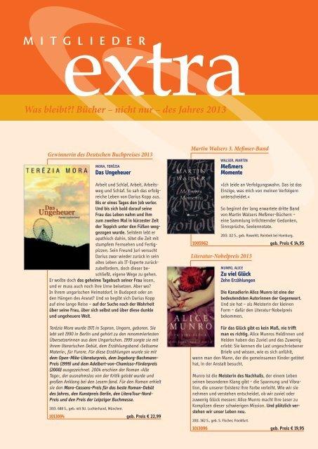 Was bleibt?! Bücher – nicht nur – des Jahres 2013 - WBG