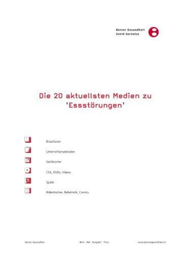 Die 20 aktuellsten Medien zu 'Essstörungen' - Berner Gesundheit