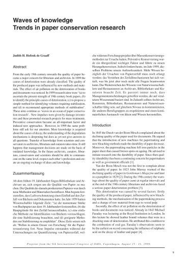 conservation biology research papers