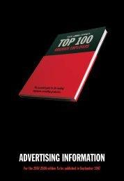 Top 100 Ratecard 2007 - High Fliers