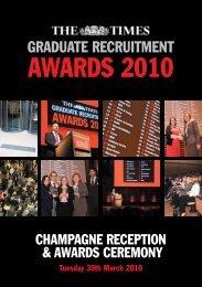 Awards Invitation 2010 - High Fliers
