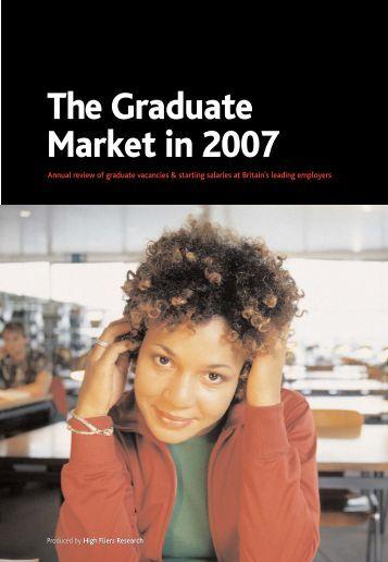 Graduate Market Report 2007 - High Fliers