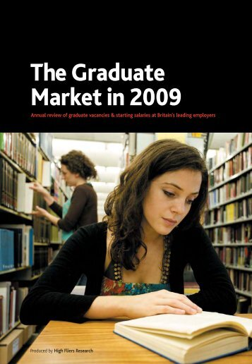 Graduate Market Report 2009 - High Fliers