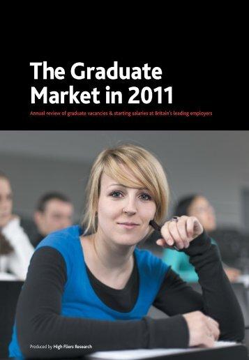 Graduate Market Report 2011 - High Fliers