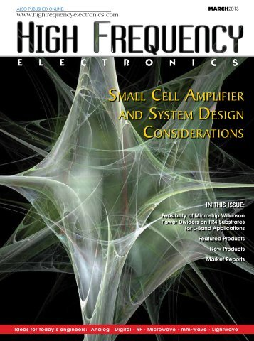 SMALL CELL AMPLIFIER AND SYSTEM DESIGN CONSIDERATIONS