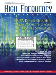 Implementing Modulation Functions in Microwave Frequency ...