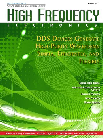 DDS Devices Generate High-Purity Waveforms Simply, Efficiently