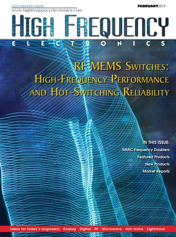 RF MEMS SwitchES: - High Frequency Electronics