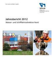 Jahresbericht 2012 der WSD Nord - Wasser- und ...