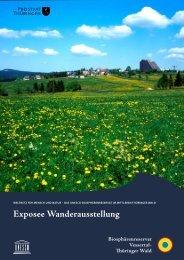 Exposee Wanderausstellung - Biosphärenreservat Vessertal ...