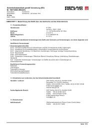 Sicherheitsdatenblatt - GHC Gerling, Holz + Co. Handels GmbH