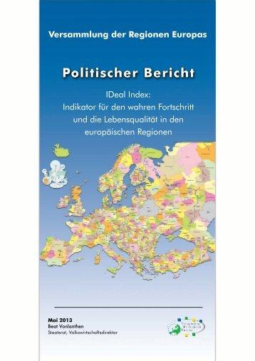 Politischer Bericht - Assembly of European Regions