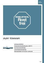 drylin®-Edelstahl - Igus