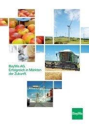 Background: BayWa AG - Erfolgreich in Märkten der Zukunft.