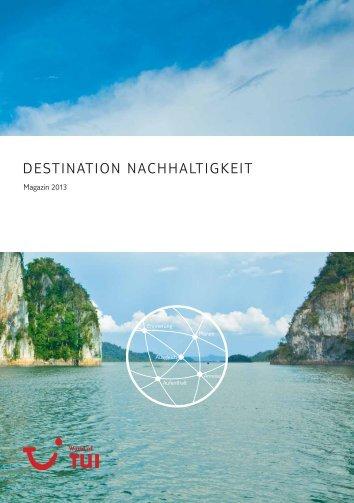 """""""Destination Nachhaltigkeit"""" 2013 - Econsense"""