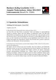 Niedersachsen neu: Vorlagen für das Lehrermaterial - C.C. Buchner